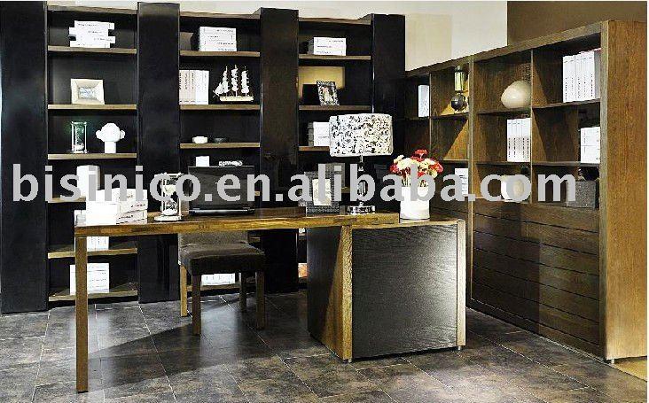 bookshelf table design