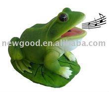 montion sensor frog promotion gift items