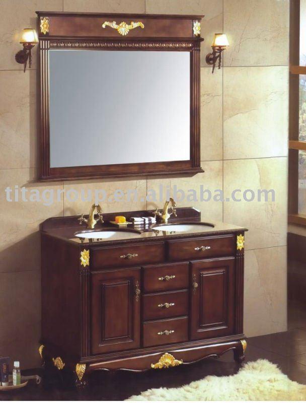 Muebles Para Baño S A De C V Gersa:Chino antiguo roble muebles de baño-Cuarto de baño Gabinete