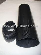 carbon fiber muffler