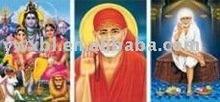lenticular 3D hologram pictures indian gods
