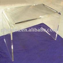 JAD-318 Bent Pure Plexiglass Coffice Table