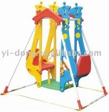 Plastic animal kids swing