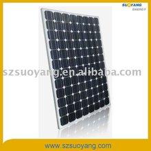 260W monocrystalline solar panel with high efficiency