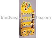 Popular display paper box for snacks