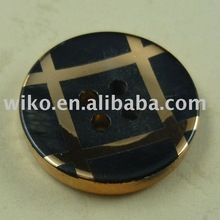 4 holes plating unsaturated polyester resin buttons