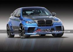 fiber glass bodykit new style LA for BMW X6