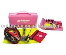19 pcs car emergency kit,car first aid kit,car safety kits