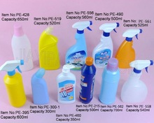 plastic trigger spray bottle with sprayer