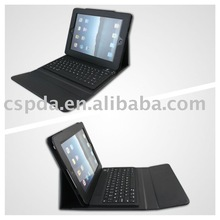 Wireless keyboard case for iPad 2 with Leather case