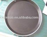 Aluminium non-stick round pizza pan