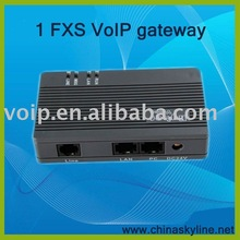 Free calls for 1 port FXS VoIP Gateway,SIP phone,IP gateway