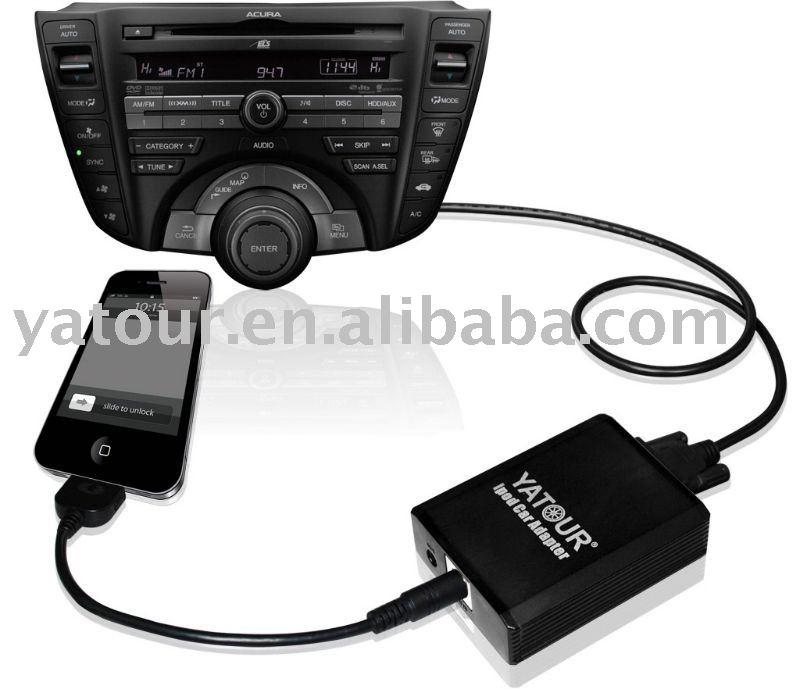 Car cd player adapter