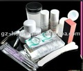 El clavo del kit de la manicura del arte del CLAVO inclina el sistema completo HN011 del polvo de acrílico