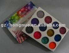 12 Color Nail Art Acrylic dust Pearl Powder kit make up