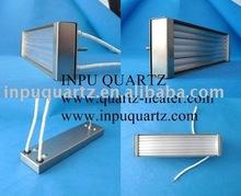 Quartz infared emitters and quartz heater elements