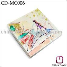 Fashion Colorful Metal Square Compact Mirror CD-MC006