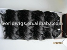 high heat resistant synthetic hair weft hair weaving