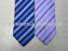 100% Silk Stripe Woven Necktie