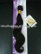 natural remy brazilian human hair weave in good wavy