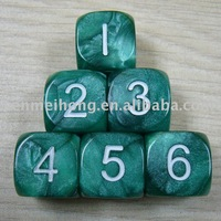 Manufacture degital carved marbling dice