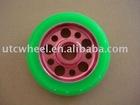 pu wheel skate with metal