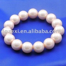 2011 best selling fashion imitation pearl friendship bracelet