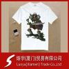 Anti-pilling cotton shirts Round Neck Plain Shirts With Pattern