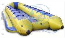 2012 {Qi Ling} sea park double tube banana boat