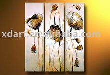 Handmade decoration flower oil painting on canvas xd-fg01193