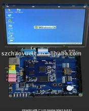 "OK6410 Arm11 Development Board Embeded Processor Board 2GB Nand Flash + 7"" TFT LCD"