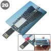 credit card plastic usb flash drives 256g