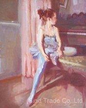 good quanlity modern dancing lady painting
