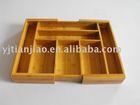 Expandable Bamboo Cutlery Tray