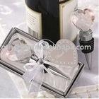Crystal Heart Bottle Stopper Wedding Bombonieres Favor MH-QT092