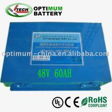 Forklift Truck battery 48v 60ah battery for electric car/motorcycle