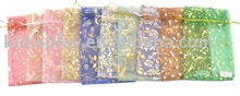 popular organza pouch packaging bags for wedding gifts