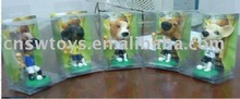 small dog figure for show and play