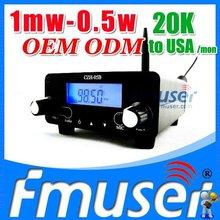 Fmuser FSN01 fm transmitter 1mw FCC wma/mp3 fm modulator Lanyue