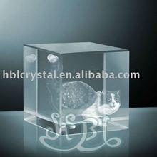 3d laser engraved crystal