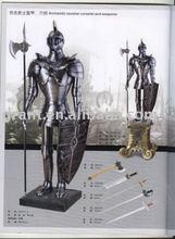 Metal home decoration/Art&Collectrible/Souvenirs/Nautical/Samurai/Antique/Medieval/Decotation/Sword/Movie Armour J44XW