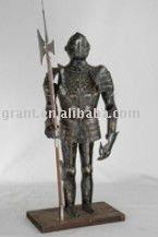 Souvenirs/Nautical/Samurai/Antique/Medieval/Decotation/Sword/Movie/Metal craft/Trique Initation Crafts Armour J55XW
