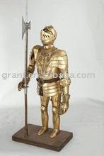 Souvenirs/Nautical/Samurai/Antique/Medieval/Decotation/Sword/Movie/Metal craft/Trique Initation Crafts Armour J56XW