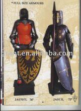 Samurai/Antique/Medieval/Decotation/Sword/Movie/Metal craft/Trique Initation Crafts/Metal home decoration Armour JA0707L JA013L