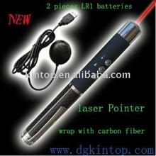 red laser presenter with carbon fiber