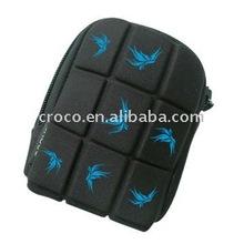 Croco black neoprene camera bag / camera pouch