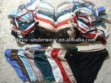 0.9USD High Quality Competive Price mini bra brief sets