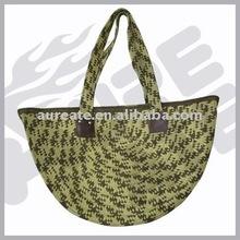 Fashion straw shopping bag