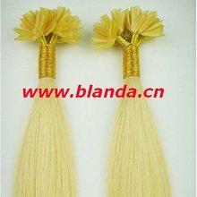 Human hair Nail tip,keratin hair extensions,U-tip,clip in, PU tape hair extensions