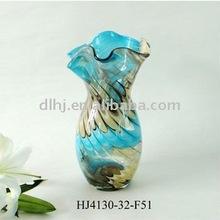Phoenix Art Colorful Glass Vase